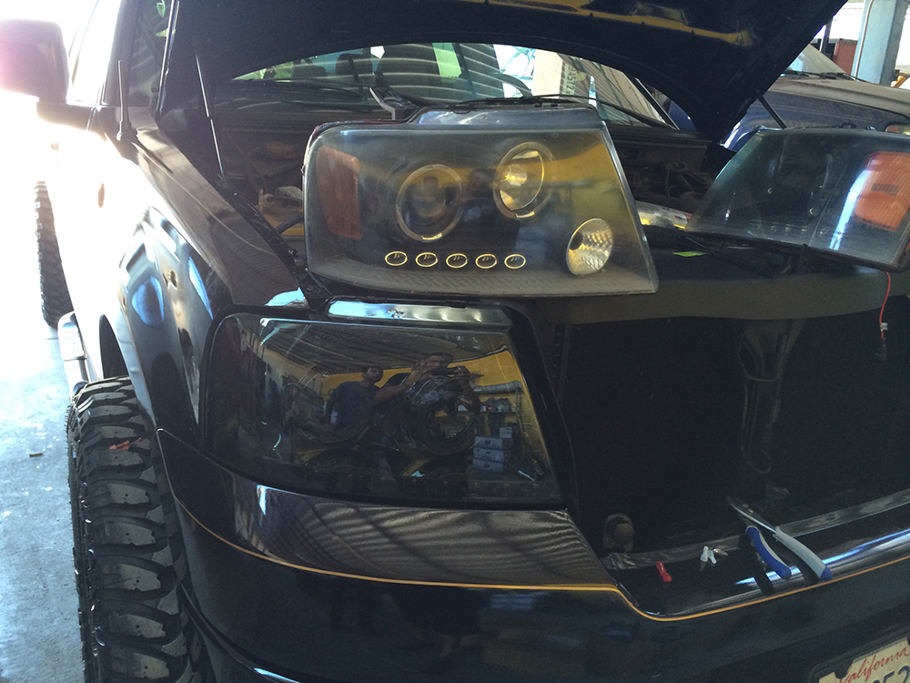 Before HID Lights