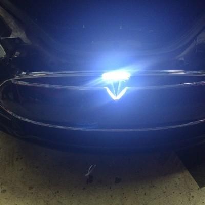 Tesla Emblem Light