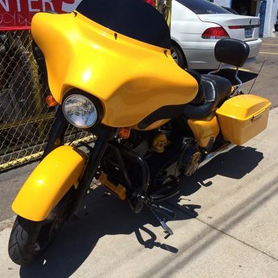 Custom Yellow Paint